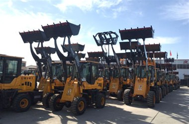 Maintenance technology of small loaders